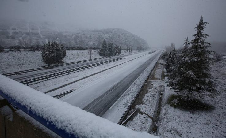 El temporal de nieve llega a León