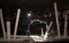 Revientan la luna y roban la recaudación de la tragaperras del bar Papillon de Huerta del Rey