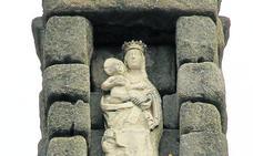 b61515e753a La réplica de la Virgen del Acueducto estará colocada en unos tres meses