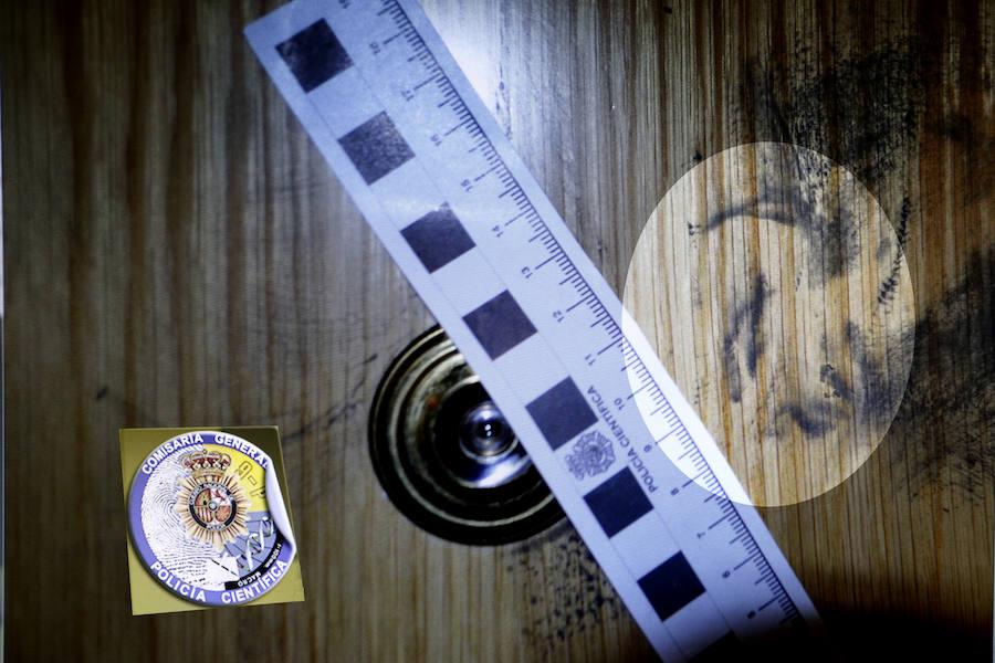 Sistema de identificación policial mediante la obtención de huellas de una oreja