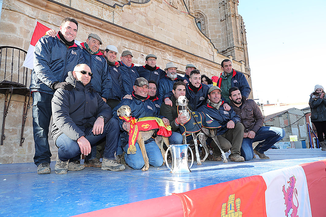 La vallisoletana Pelaya de Safesa, campeona de España de Galgos