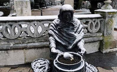 La AEMET mantiene la alerta amarilla por nieve para este domingo solo en Burgos