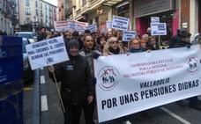 Manifestación en Valladolid por una «pensión digna»