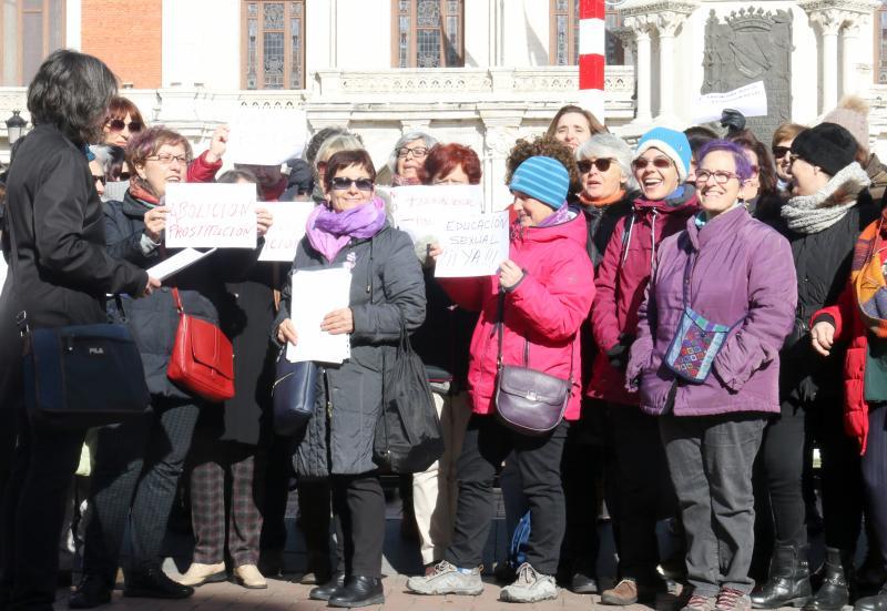 Ruta cultural feminista en Plaza Mayor de Valladolid