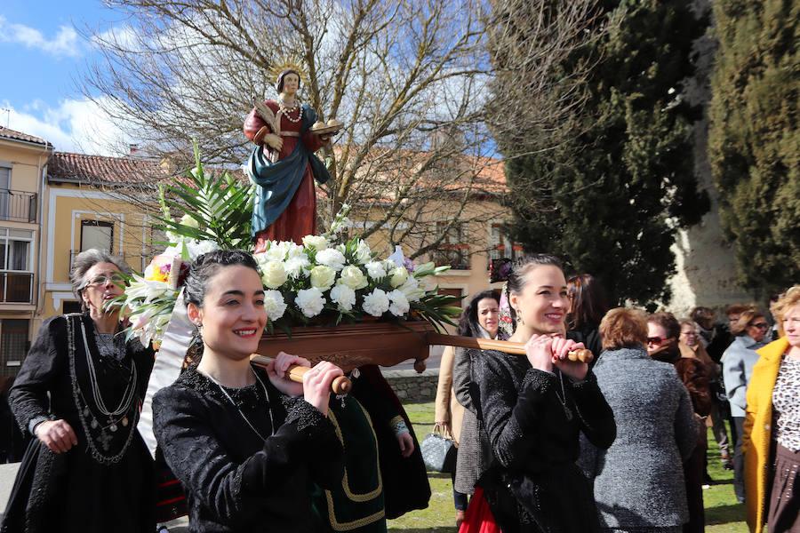 Celebración de Santa Águeda en Cuéllar.