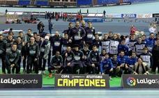 Álvaro de Arriba ayuda con su triunfo a darle la Copa al FC Barcelona en Anoeta
