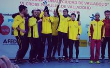 El Atletismo Macotera revalida el título de campeón regional de campo a través en Valladolid