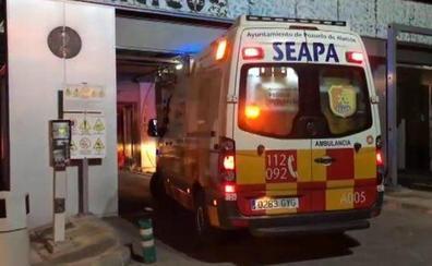 Herida tras quedar atrapada en el túnel de lavado del coche en Madrid