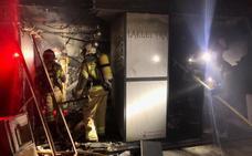 Un incendio calcina el interior de una discoteca de Valladolid