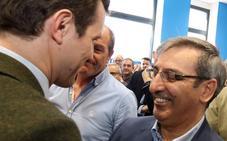 Pablo Casado hace un guiño a Sanz Merino, a quien desea «altas responsabilidades en el partido»
