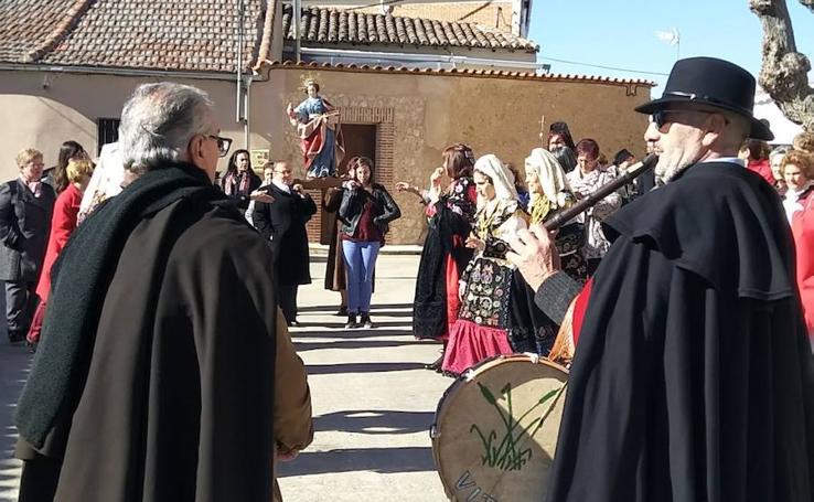 Celebración de Santa Águeda en la provincia de Salamanca