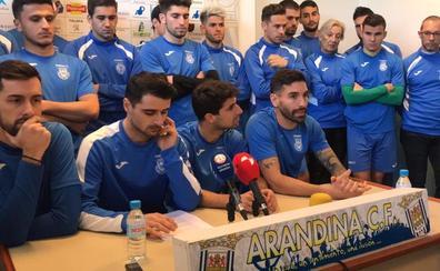 El entrenador de la Arandina pide disculpas y la plantilla le brinda públicamente su apoyo
