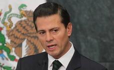 El expresidente mexicano Peña Nieto y su novia, en Madrid