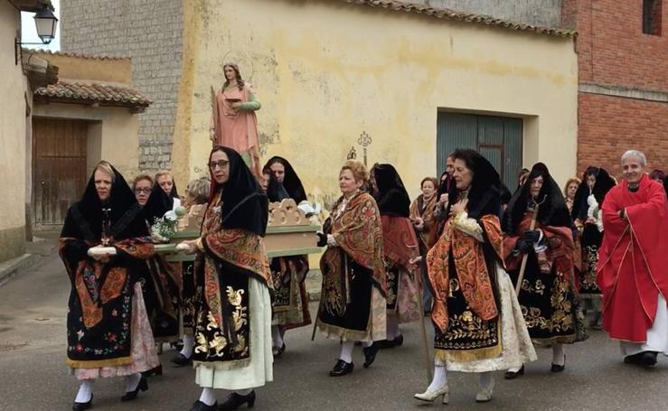 La provincia de Valladolid celebra la festividad de Santa Águeda (2/2)