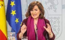 Calvo defiende la figura del relator en Cataluña ante las críticas de hasta su partido