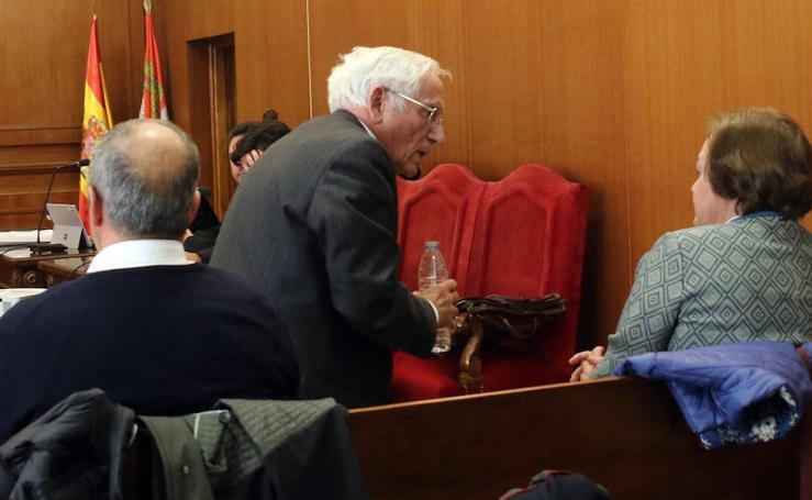 Segunda jornada del juicio de las prejubilaciones de Caja Segovia