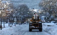 El Real Sitio de San Ildefonso opta por la urea como fundente para las nevadas