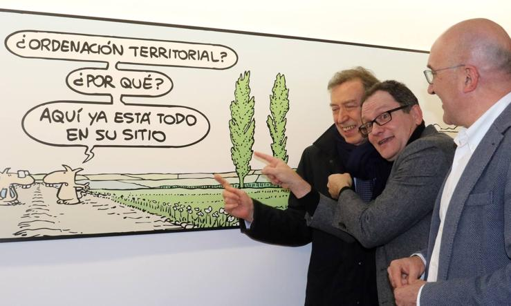 Exposición 'Valladolid se dibuja con dos líneas', de José María Nieto