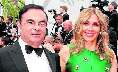 Ghosn se casó en Versalles aprovechando un contrato que tenía Renault con el Palacio