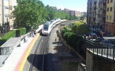 Una mujer, herida al ser arrollada por un tren en Salamanca