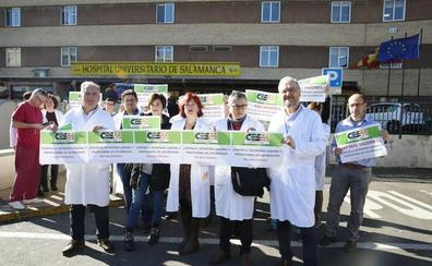 Los médicos avisan de que podrían convocar una huelga en marzo