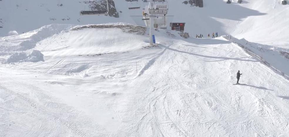 San Isidro y Leitariegos esperan un fin de semana de éxito con 31 kilómetros de pistas esquiables