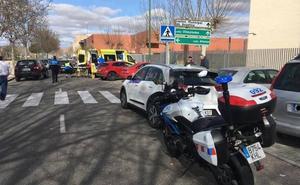 Una anciana de 83 años, herida tras ser arrollada por un taxi en Valladolid