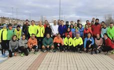 Juan Carlos Fuentes dirige el cuarto entrenamiento para preparar la Media Maratón de Salamanca