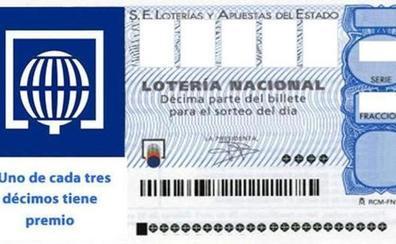El sorteo de la Lotería Nacional deja parte del segundo premio en Soria