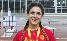 Carla Gallardo, campeona de España Promesa