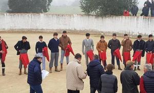 Buen juego de las vacas de Adolfo Martín en el Bolsín Taurino de Ciudad Rodrigo