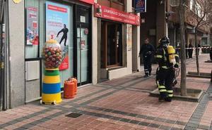 Escape de gas butano en un establecimiento de comida de Palencia
