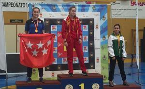 La salmantina Andrea García campeona de España tiro con arco para menores de 14 años