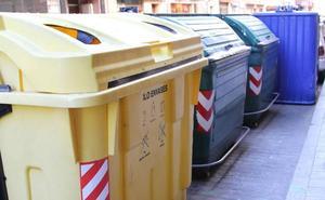 Detenido 'in fraganti' en Medina del Campo por quemar varios contenedores