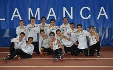 Medalla de plata para el Caja Rural Atlético Salamanca en el autonómico sub-16 de pista cubierta