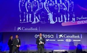 El CB Avenida, reconocido como mejor club en la gala de los 31 Premios Gigantes en Madrid