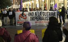 Concentración de venezolanos en Valladolid
