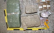 Detenido en Ituero de Azaba con 10,4 kilos de hachís