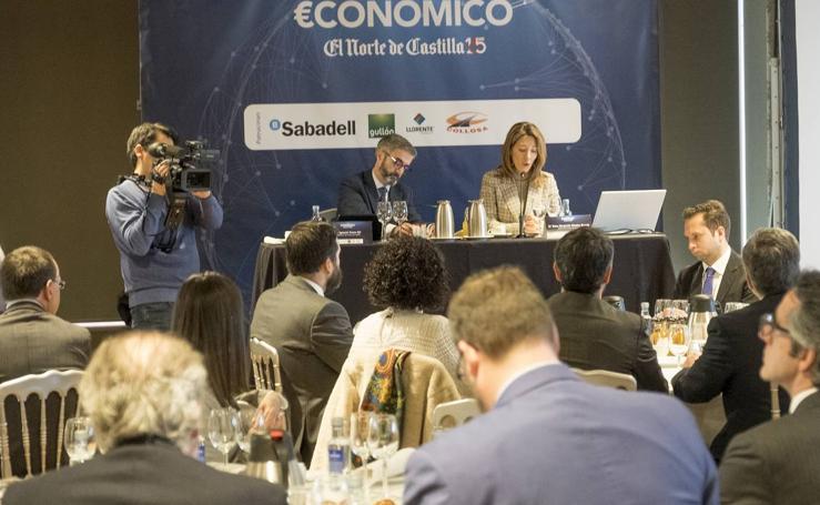 La secretaria de Estado de Comercio, en el Foro Económico de El Norte de Castilla