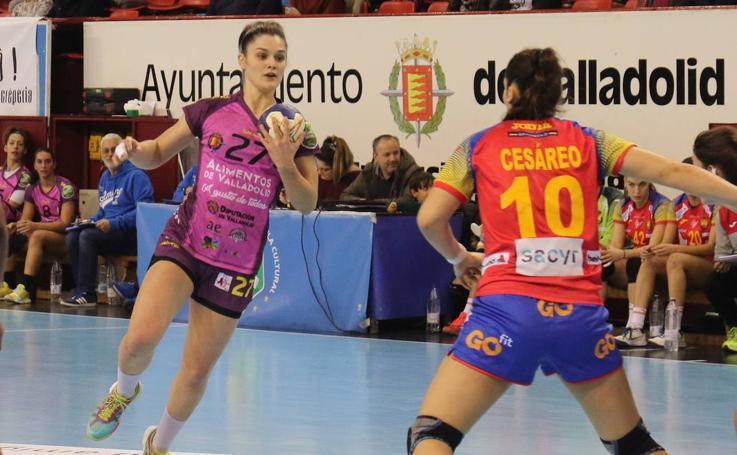 Amistoso entre el Aula Alimentos y la selección española Objetivo 2021 en Huerta del Rey
