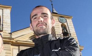 David López Castán, subcampeón de España de 'snow running'