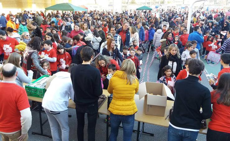 Semana Solidaria en el colegio Claret de Segovia