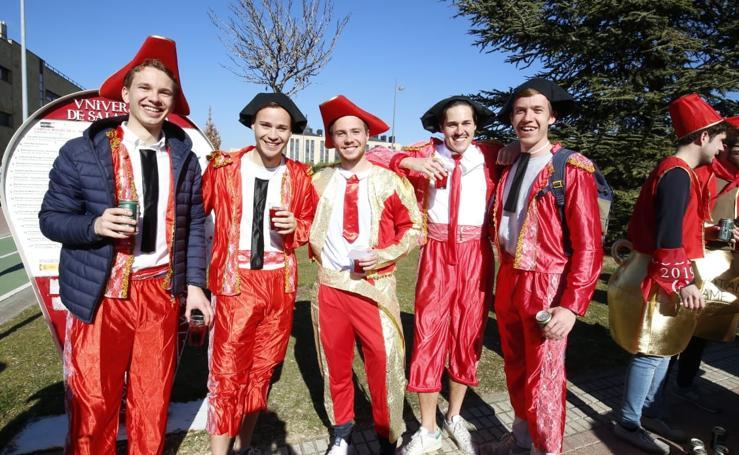 La Fiesta del Codex de Derecho anima el campus de Salamanca