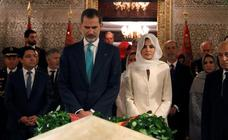 El viaje de los Reyes a Marruecos, en imágenes