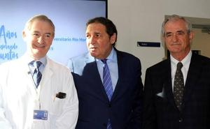 El Río Hortega de Valladolid cumple diez años como «ejemplo» de hospital y de integración con Primaria