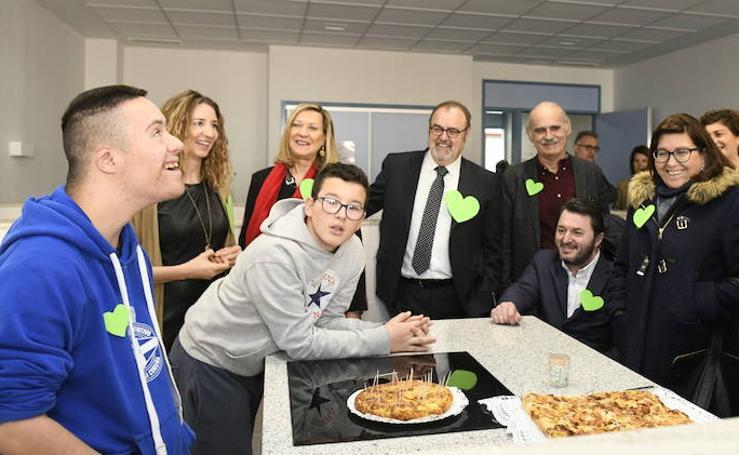 inauguración del nuevo centro de educación especial en Covaresa
