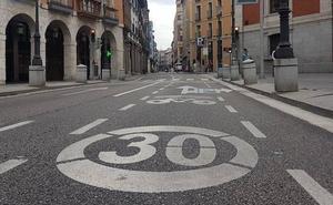 El Ayuntamiento de Valladolid limita a 30 kilómetros la velocidad en el centro por los altos niveles de contaminación