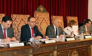 La lucha contra los 'okupas' dirige el debate en la Diputación de Valladolid