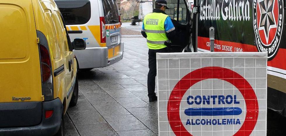 La Policía Local de Segovia detiene a un hombre por conducir ebrio con un índice de más de 0,6