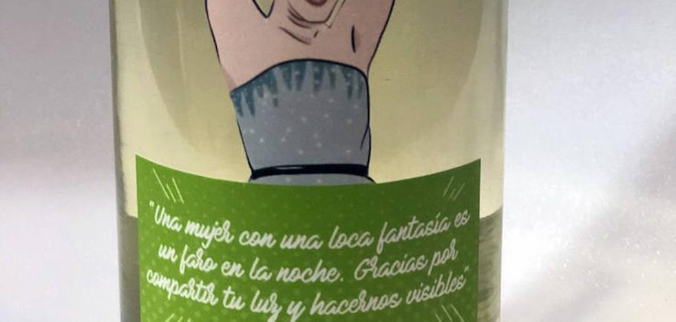 El discurso de la 'goyarizada' Eva Llorach inspira una botella exclusiva de la DO Rueda